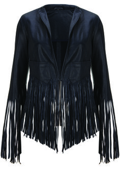 Fringe jacket by kate moss!!! (where to wear this?!??)