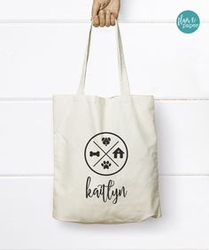 Dog Love Tote Bag, Pet Tote Bag,by FlairandPaper on Etsy. Find it here: http://etsy.me/2eDDb4b