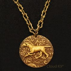 POINTER PENDANT NECKLACE. Pointer Dog Jewelry. Engravable Charm. Vintage Style. Dog Bone Necklace. Dog Lovers Gifts. Suitable for Engraving. $19.95, via Etsy.