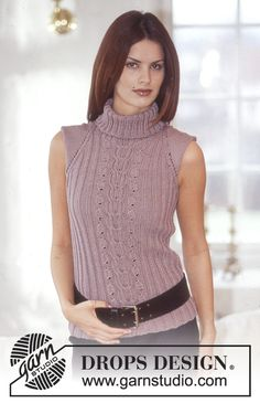 DROPS 73-15 - DROPS Top in Muskat. - Free pattern by DROPS Design
