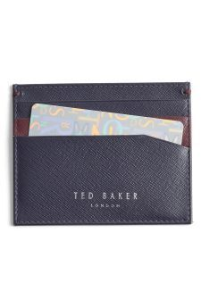 Ted Baker London 'Froncko' Leather Card Case | No