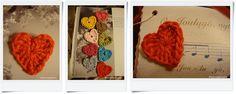 KahviKaneli Virkkaa: Virkattu pieni sydän - ohje mukana, Tiny Crochet Heart
