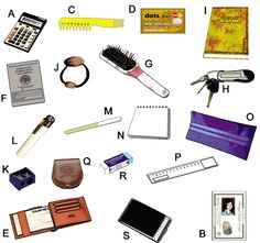 FREE Descriptive Writing Activity Idea~  Using this picture or any assortment of 3D objects (rocks, fruit, geometric shapes, etc.) have students write specific, accurate details to describe objects.  Students  take turns reading their descriptions and classmates guess which object is being described.  Can be done in pairs or small groups.  The teacher could also create clues on index cards for the students to use to identify objects.  Great warm-up activity before writing descriptive essays!