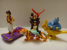 Aladdin Happy Meal Toy Vintage Aladdin Toys by myvintagetoyshop