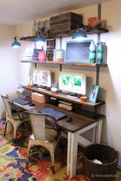 home office closet organization and design ideas-7