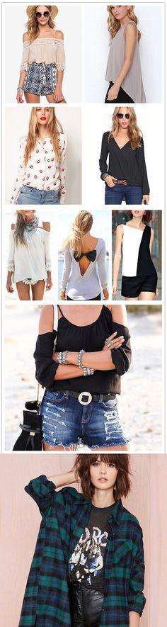 Street Wear Blouses for Women, Fashion Trends