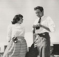 Robert Rauschenberg and Susan Weil at Black Mountain College