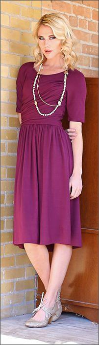 Mia Dress [MDS3001] - $49.99 : Mikarose Fashion, Reinventing Modest Fashion
