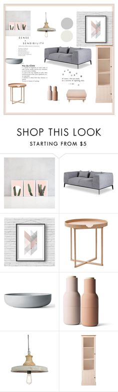 """""""Sans titre #1511"""" by macopa ❤ liked on Polyvore featuring interior, interiors, interior design, home, home decor, interior decorating, .wireworks and Menu"""