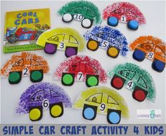 Simple+Car+Craft+Activity+for+Kids+-+by+learning+4+kids
