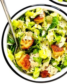 Caesar Salad recipe from Gimmie Some Oven