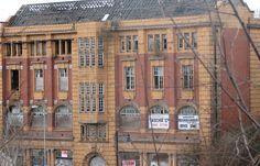 Former YMCA building, Merthyr Tydfil   Striking terracotta facade derelict Rescue Ideas and funding needed ASAP