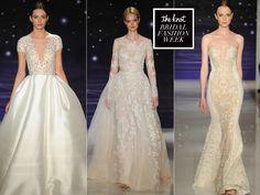 Reem Acra Spring Wedding Dresses Exude Subtle Sensuality for 2016 (Video) | Photo by: Maria Valentino/MCV Photo | TheKnot.com