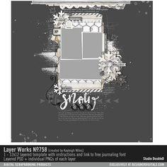 Layer Works No. 758- Studio Double-D Templates- LT928576- DesignerDigitals