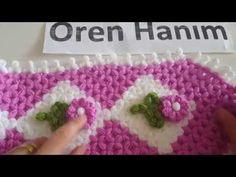 Lif Püskülü ve Lif Çiçeği Yapımı - YouTube