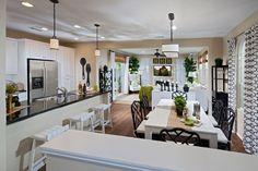 WHA Single Family Home | Kitchen & Dining Room | Canopy Lane | Santa Ana, CA