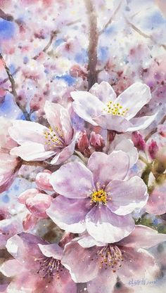 60 Exquisite Urban Watercolor Paintings by Artist Lin Ching Che Watercolor Flowers, Watercolor Paintings, Floral Paintings, Flower Wallpaper, Botanical Art, Ikebana, Beautiful Paintings, Flower Art, Landscape Paintings