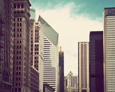 Chicago architecture photography by JourneysEye on Etsy