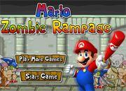 Mario Zombie Rampage   juegos de mario bros - jugar online