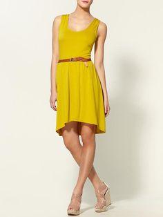 Hive and Honey yellow dress.