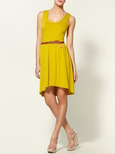 Hive and Honey yellow dress.