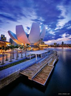 The Art Science Museum, Marina Bay Sands, Singapore