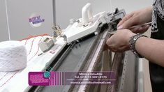 Mónica Astudillo - Bienvenidas TV en HD - Enseña a tejer con máquina. - YouTube