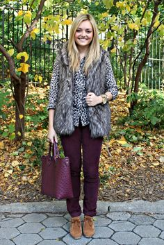 Oxblood and Leopard.