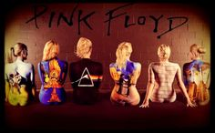 Body Paint on Pinterest  Stay Gold Pink Floyd and Body Paint Hot Body Paint, Airbrush Body Paint, Pink Floyd Poster, Pink Floyd Albums, Greatest Album Covers, Cd Cover Design, Female Body Art, Celebrity Bodies, Pink Floyd Dark Side