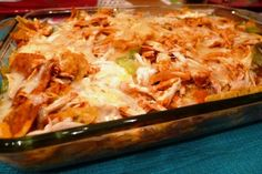South American Food - Baked Chilaquiles