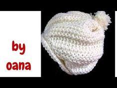 uncinetto tunisino cappellino bimbo - YouTube