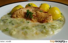 Smetanové pekingské zelí Risotto, Eggs, Chicken, Breakfast, Ethnic Recipes, Food, Diet, Cooking, Morning Coffee