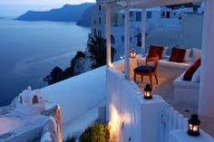 Resultado de imagen para terrazas en santorini