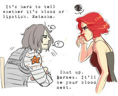 """""""It'll be your blood next"""" by RoyaleWolf © #WinterWidow"""