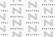 NEUTRAL - WORKS | HIBA INC. Japan Logo, Typo Logo, Graphic Design Studios, It Works, Neutral, Nailed It