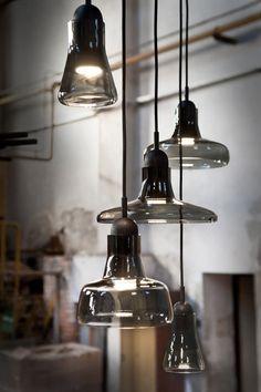 Shadow Pendants by Brokis http://ecc.co.nz/lighting/indoor/pendants-chandeliers/shadows-solo-189