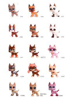 I want them all,I have never ever have had a Great Dane Lps Lps Littlest Pet Shop, Little Pet Shop Toys, Little Pets, Lps Dachshund, Lps Dog, Play Doh, Accessoires Lps, Lps Great Dane, Lps Popular