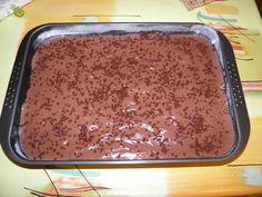 Jednostavni puding kolač s rupama Sheet Pan, Banana Bread, Pudding, Desserts, Food, Nail, Basket, Cakes, Springform Pan