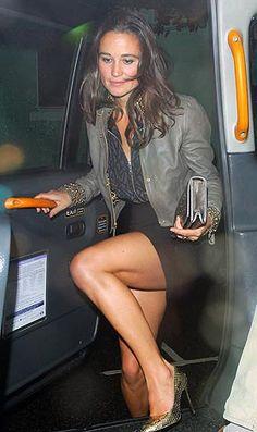 Pippa Middleton legs