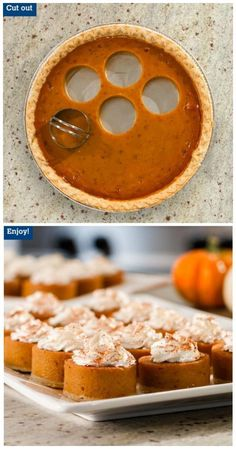 19 delicious Thanksgiving treats that will blow your kids away - . - 19 delicious Thanksgiving treats that will blow your kids away – you thanksgiving - Pumpkin Recipes, Fall Recipes, Holiday Recipes, Mini Pie Recipes, Pumpkin Cheesecake Recipes, Christmas Recipes, Thanksgiving Treats, Thanksgiving Turkey, Holiday Treats