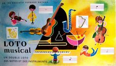 loto musical  | por maptitefabrique