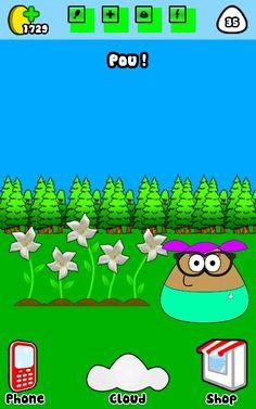 Pou and her garden