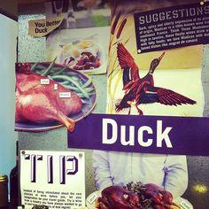 Duck, duck, wine!