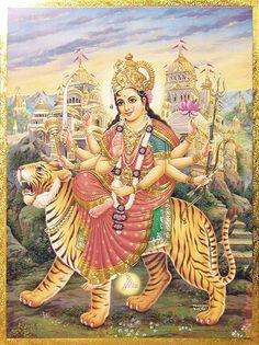 Vaishno Devi (Reprint on Paper - Unframed))