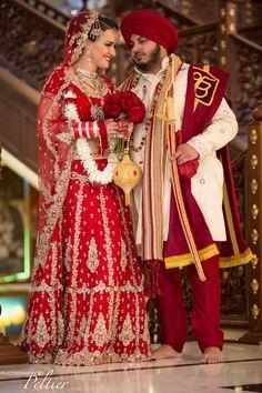 #sikh #wedding #temple #bride #groom #Temple
