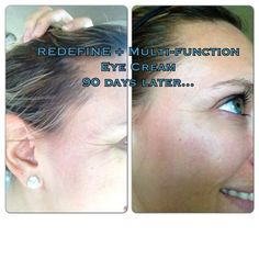 One happy consultant with great results just after 60 days. Redefine Regimen and my fav, multi function eye cream. Get yours here.. Http://lromano.myrandf.com