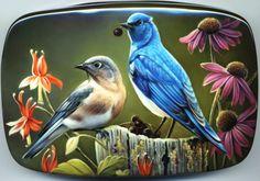 "Fedoskino. Russian Lacquer Art Titled ""aaa"" Artist Oleg Gavrilov"