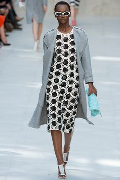 Lace dresses in the new Burberry Prorsum show for next spring!