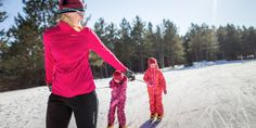 Wisconsin is the destination for winter activities including the best cross-country skiing, snowshoeing, ice-skating or hiking at these state parks!