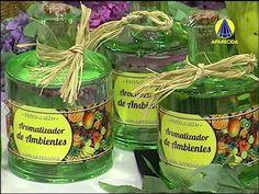 Santa Receita | Mini curso de sabonetes: aromatizador de ambientes e embalagens - 11 de Agosto - YouTube